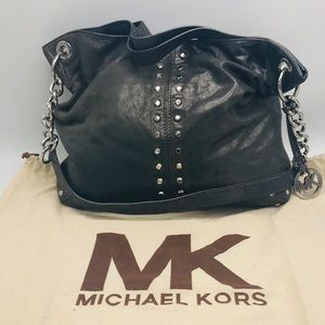 Michael Kors Studded Large Shoulder Bag